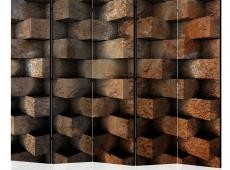 Paraván - Brick  braid  II [Room Dividers]